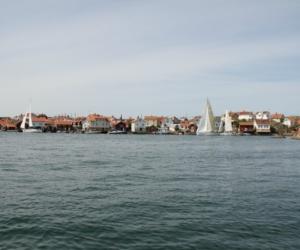 Vy över farleden utanför Gullholmen - Foto: Carita Filipsson