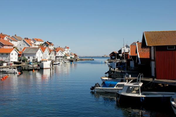 Norra hamnen på sommaren - Foto: Carita Filipsson