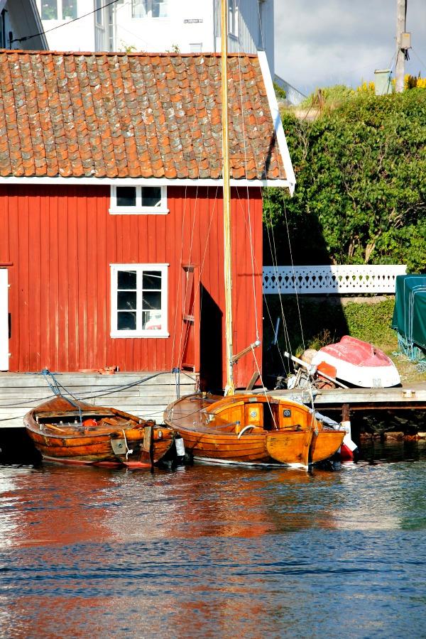 Vid bryggan - Foto: Carita Filipsson