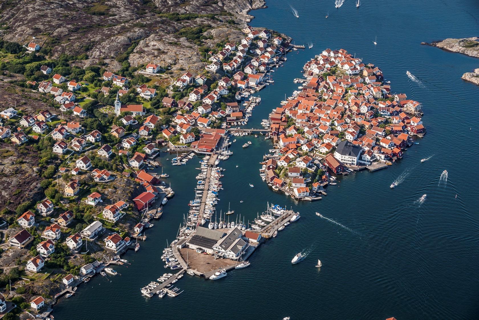 Gullholmens hamn - Foto: Per Pixel