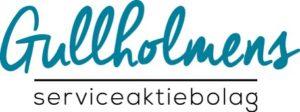 loggo Gullholmens Serviceaktiebolag