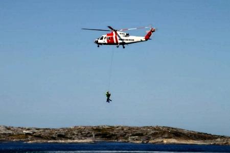 Sjöräddningshelikopter 450x