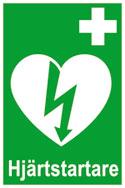 hjärtstartarikon