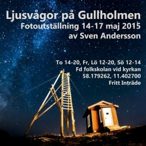 Fotoutställning  Sven Andersson 14-17 maj 400x