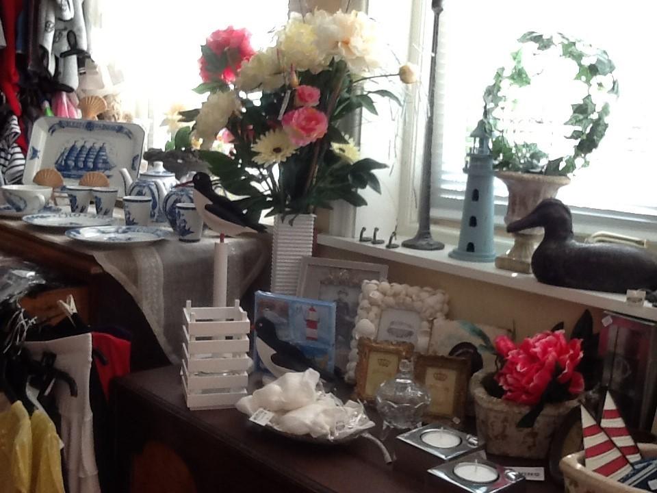 På bordet i Ö-butiken