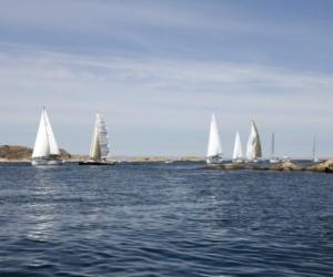 Segling i farleden - Foto: Carita Filipsson