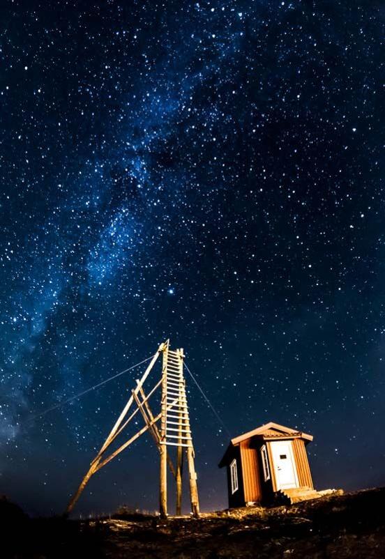 Lotsutkiken nattetid - Foto: Sven Andersson