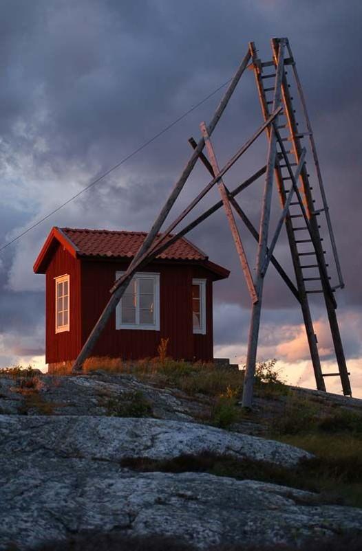 Lotsutkiken i skymningen - Foto: Sven Andersson